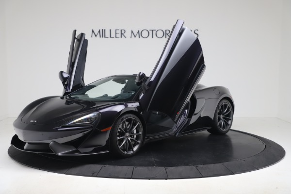 Used 2019 McLaren 570S Spider Convertible for sale $189,900 at Maserati of Greenwich in Greenwich CT 06830 18