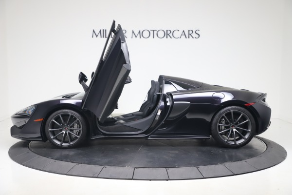 Used 2019 McLaren 570S Spider for sale Call for price at Maserati of Greenwich in Greenwich CT 06830 19