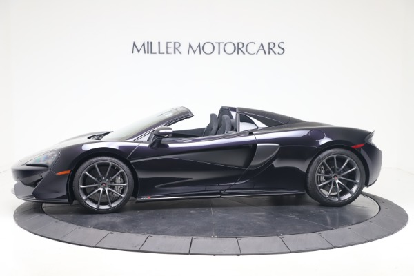 Used 2019 McLaren 570S Spider Convertible for sale $189,900 at Maserati of Greenwich in Greenwich CT 06830 2