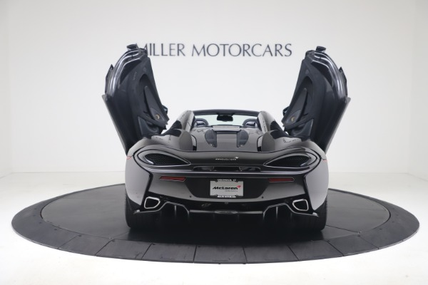 Used 2019 McLaren 570S Spider for sale Call for price at Maserati of Greenwich in Greenwich CT 06830 21