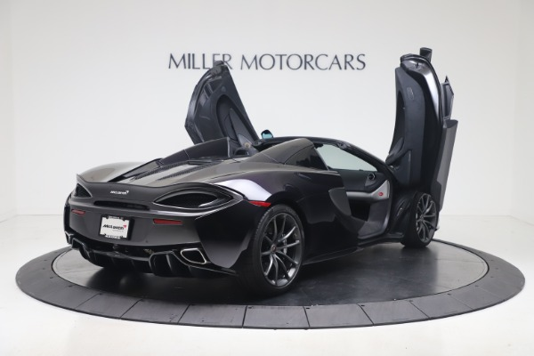 Used 2019 McLaren 570S Spider for sale Call for price at Maserati of Greenwich in Greenwich CT 06830 22