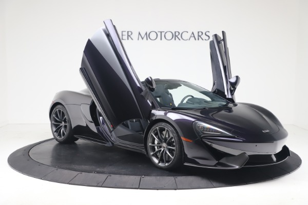 Used 2019 McLaren 570S Spider Convertible for sale $189,900 at Maserati of Greenwich in Greenwich CT 06830 24
