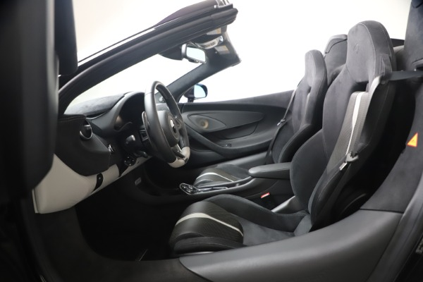Used 2019 McLaren 570S Spider for sale Call for price at Maserati of Greenwich in Greenwich CT 06830 27