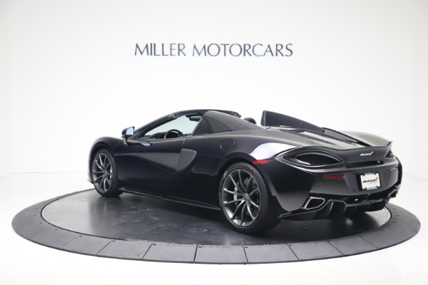 Used 2019 McLaren 570S Spider for sale Call for price at Maserati of Greenwich in Greenwich CT 06830 3