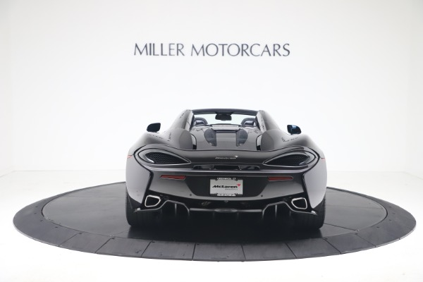 Used 2019 McLaren 570S Spider for sale Call for price at Maserati of Greenwich in Greenwich CT 06830 4