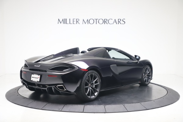 Used 2019 McLaren 570S Spider for sale Call for price at Maserati of Greenwich in Greenwich CT 06830 5