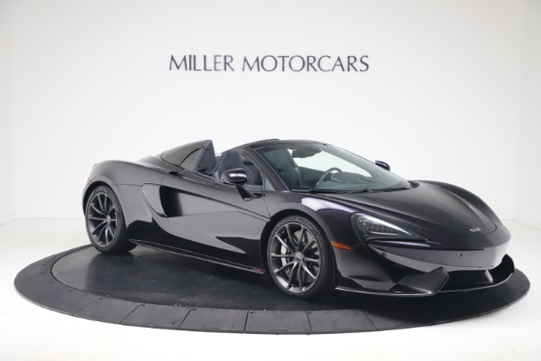 Used 2019 McLaren 570S Spider Convertible for sale $189,900 at Maserati of Greenwich in Greenwich CT 06830 7