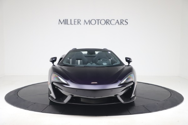 Used 2019 McLaren 570S Spider for sale Call for price at Maserati of Greenwich in Greenwich CT 06830 8