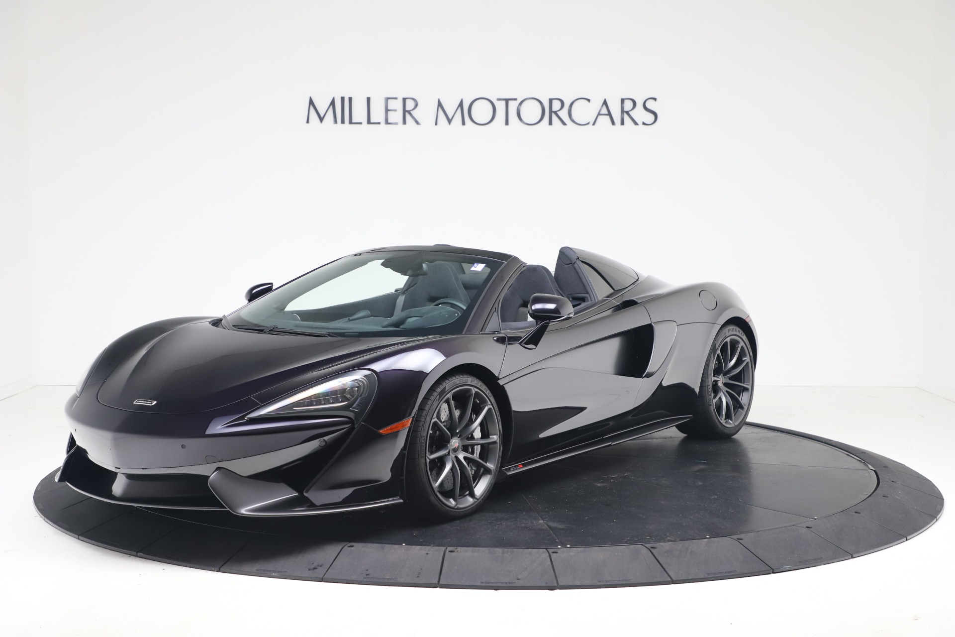 Used 2019 McLaren 570S Spider for sale Call for price at Maserati of Greenwich in Greenwich CT 06830 1