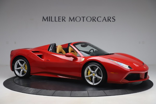 Used 2018 Ferrari 488 Spider Base for sale $289,900 at Maserati of Greenwich in Greenwich CT 06830 10