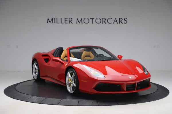 Used 2018 Ferrari 488 Spider Base for sale $289,900 at Maserati of Greenwich in Greenwich CT 06830 11
