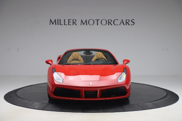 Used 2018 Ferrari 488 Spider Base for sale $289,900 at Maserati of Greenwich in Greenwich CT 06830 12