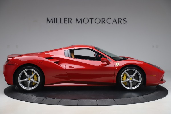 Used 2018 Ferrari 488 Spider Base for sale $289,900 at Maserati of Greenwich in Greenwich CT 06830 16