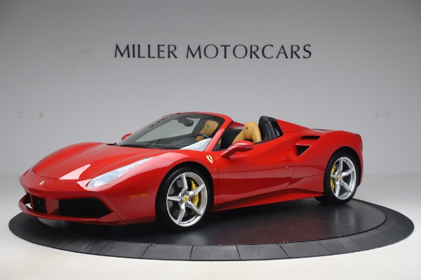 Used 2018 Ferrari 488 Spider Base for sale $289,900 at Maserati of Greenwich in Greenwich CT 06830 2