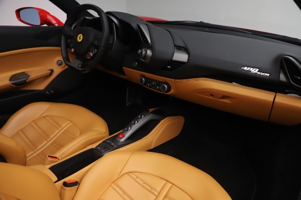 Used 2018 Ferrari 488 Spider Base for sale $289,900 at Maserati of Greenwich in Greenwich CT 06830 23