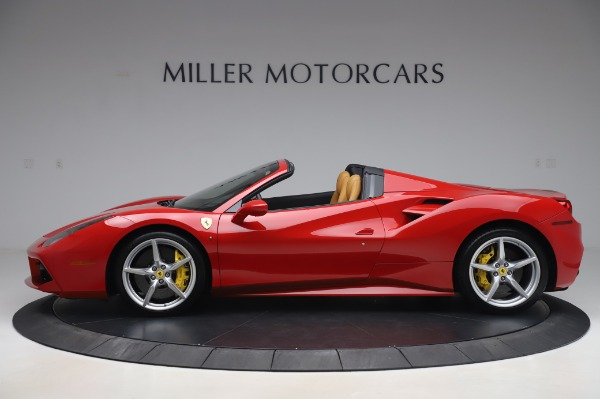 Used 2018 Ferrari 488 Spider Base for sale $289,900 at Maserati of Greenwich in Greenwich CT 06830 3