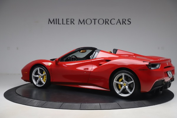 Used 2018 Ferrari 488 Spider Base for sale $289,900 at Maserati of Greenwich in Greenwich CT 06830 4