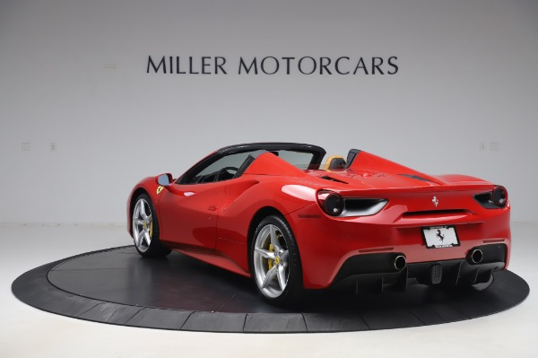 Used 2018 Ferrari 488 Spider Base for sale $289,900 at Maserati of Greenwich in Greenwich CT 06830 5