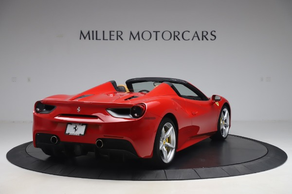 Used 2018 Ferrari 488 Spider Base for sale $289,900 at Maserati of Greenwich in Greenwich CT 06830 7