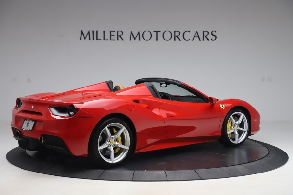 Used 2018 Ferrari 488 Spider Base for sale $289,900 at Maserati of Greenwich in Greenwich CT 06830 8