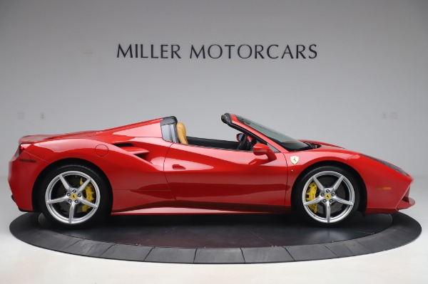Used 2018 Ferrari 488 Spider Base for sale $289,900 at Maserati of Greenwich in Greenwich CT 06830 9