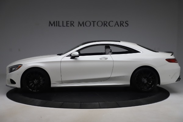 Used 2015 Mercedes-Benz S-Class S 550 4MATIC for sale Sold at Maserati of Greenwich in Greenwich CT 06830 3
