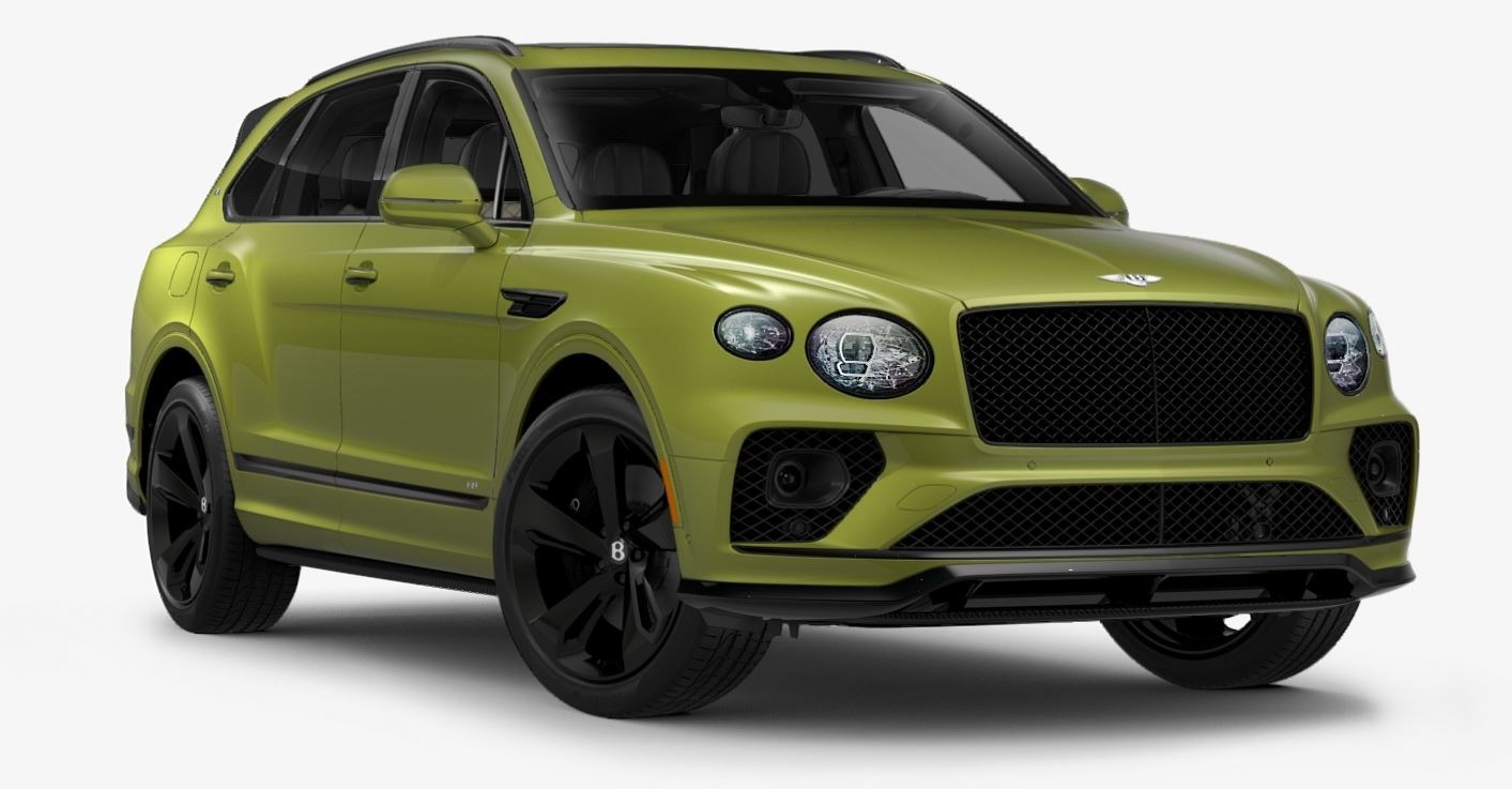 New 2021 Bentley Bentayga V8 First Edition for sale $261,710 at Maserati of Greenwich in Greenwich CT 06830 1