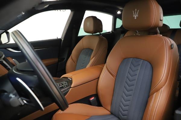 New 2020 Maserati Levante Q4 GranLusso for sale Sold at Maserati of Greenwich in Greenwich CT 06830 15