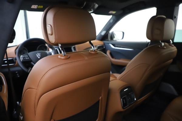 New 2020 Maserati Levante Q4 GranLusso for sale Sold at Maserati of Greenwich in Greenwich CT 06830 20