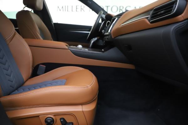New 2020 Maserati Levante Q4 GranLusso for sale Sold at Maserati of Greenwich in Greenwich CT 06830 23