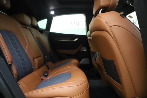 New 2020 Maserati Levante Q4 GranLusso for sale Sold at Maserati of Greenwich in Greenwich CT 06830 27