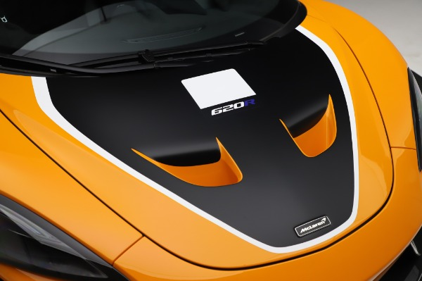 New 2020 McLaren 620R Coupe for sale Call for price at Maserati of Greenwich in Greenwich CT 06830 17