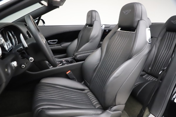 Used 2016 Bentley Continental GTC W12 for sale Call for price at Maserati of Greenwich in Greenwich CT 06830 27