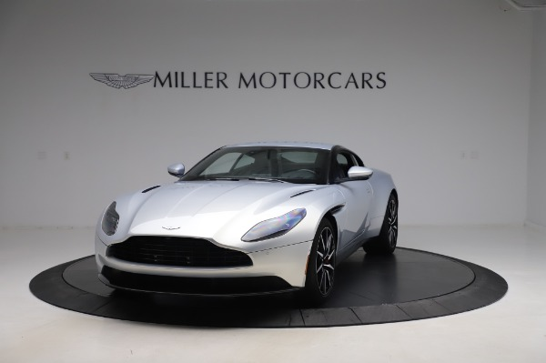 Used 2018 Aston Martin DB11 V8 Coupe for sale Sold at Maserati of Greenwich in Greenwich CT 06830 12