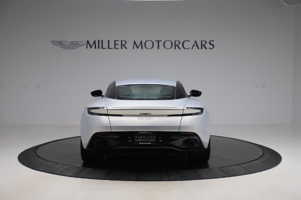 Used 2018 Aston Martin DB11 V8 Coupe for sale Sold at Maserati of Greenwich in Greenwich CT 06830 5