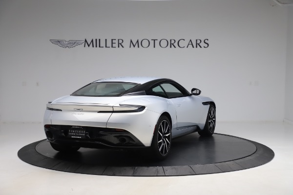 Used 2018 Aston Martin DB11 V8 Coupe for sale Sold at Maserati of Greenwich in Greenwich CT 06830 6