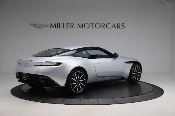 Used 2018 Aston Martin DB11 V8 Coupe for sale Sold at Maserati of Greenwich in Greenwich CT 06830 7