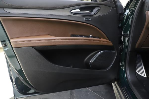 Used 2019 Alfa Romeo Stelvio Ti Lusso for sale Sold at Maserati of Greenwich in Greenwich CT 06830 17