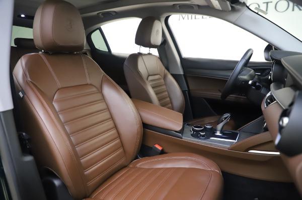 Used 2019 Alfa Romeo Stelvio Ti Lusso for sale Sold at Maserati of Greenwich in Greenwich CT 06830 22