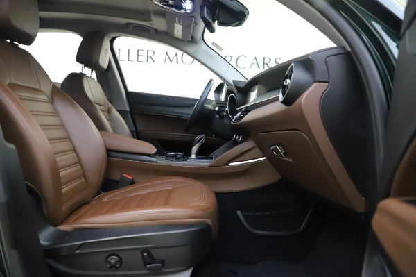 Used 2019 Alfa Romeo Stelvio Ti Lusso for sale Sold at Maserati of Greenwich in Greenwich CT 06830 23