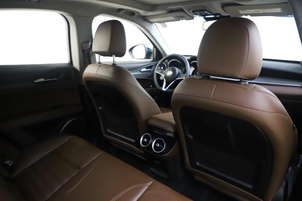 Used 2019 Alfa Romeo Stelvio Ti Lusso for sale Sold at Maserati of Greenwich in Greenwich CT 06830 28