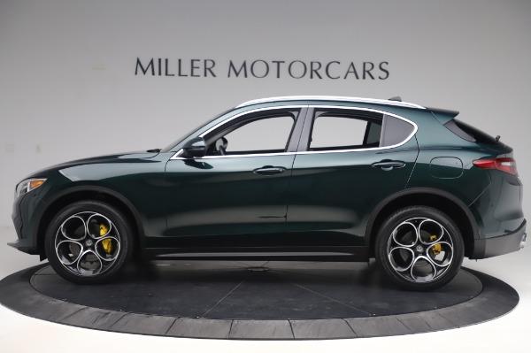 Used 2019 Alfa Romeo Stelvio Ti Lusso for sale Sold at Maserati of Greenwich in Greenwich CT 06830 3