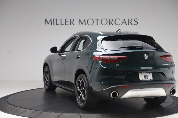 Used 2019 Alfa Romeo Stelvio Ti Lusso for sale Sold at Maserati of Greenwich in Greenwich CT 06830 5