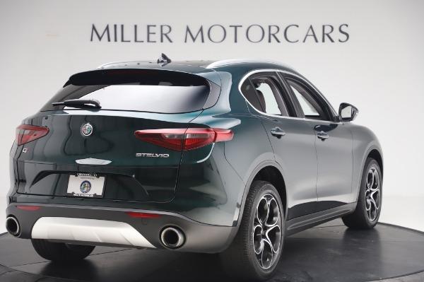 Used 2019 Alfa Romeo Stelvio Ti Lusso for sale Sold at Maserati of Greenwich in Greenwich CT 06830 8