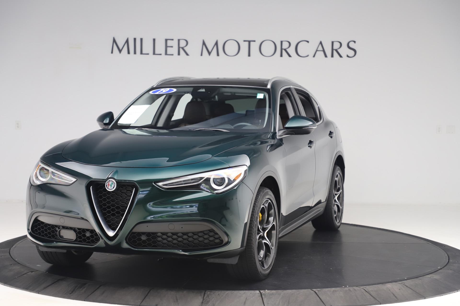 Used 2019 Alfa Romeo Stelvio Ti Lusso for sale Sold at Maserati of Greenwich in Greenwich CT 06830 1