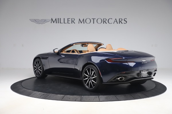 New 2020 Aston Martin DB11 Volante Volante for sale $248,326 at Maserati of Greenwich in Greenwich CT 06830 4