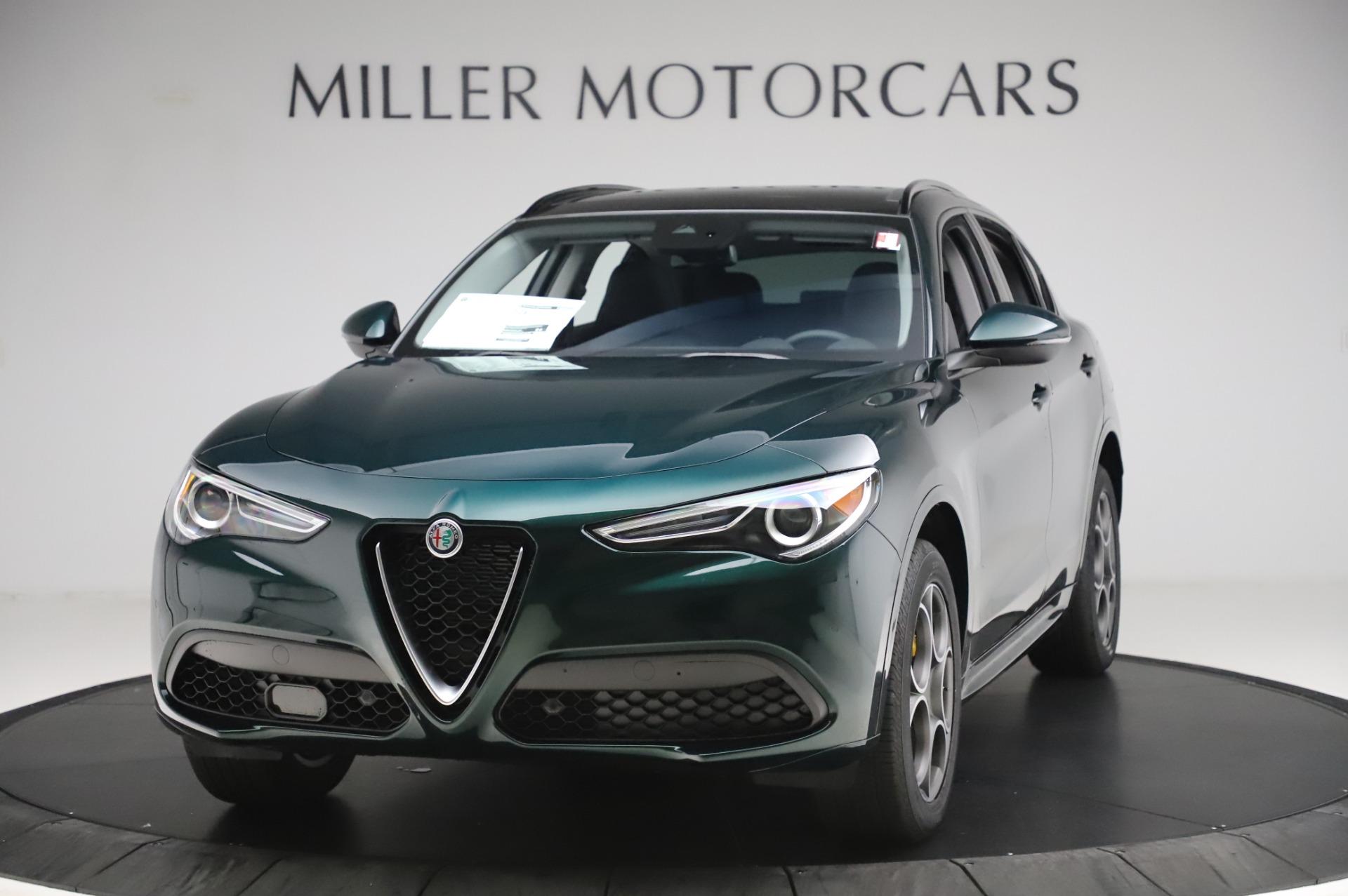 New 2020 Alfa Romeo Stelvio Sport Q4 for sale $49,995 at Maserati of Greenwich in Greenwich CT 06830 1