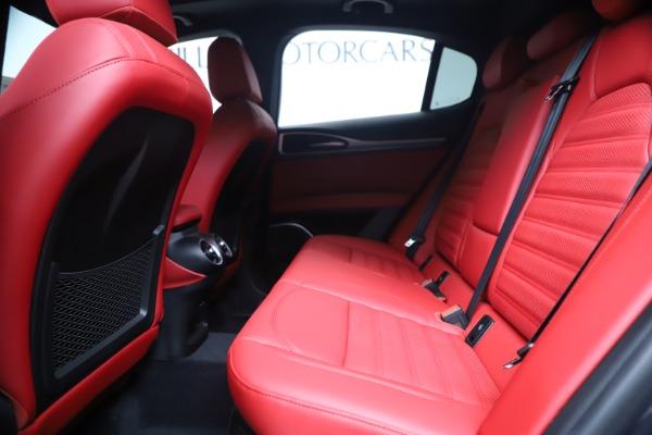 New 2020 Alfa Romeo Stelvio Ti Sport Q4 for sale Sold at Maserati of Greenwich in Greenwich CT 06830 19