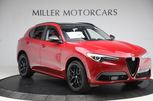 New 2020 Alfa Romeo Stelvio Sport Q4 for sale $50,195 at Maserati of Greenwich in Greenwich CT 06830 11