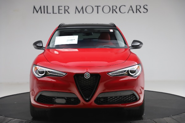 New 2020 Alfa Romeo Stelvio Sport Q4 for sale $50,195 at Maserati of Greenwich in Greenwich CT 06830 12